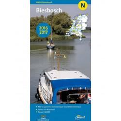 ANWB-kaart N Biesbosch