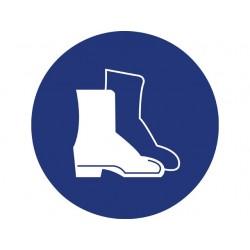 Veiligheid-schoenen verplicht