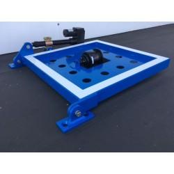 Blaue Tafel 60 x 60 cm Komplett