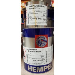 Hempadur quatro 17634 RAL9005 20 LTR