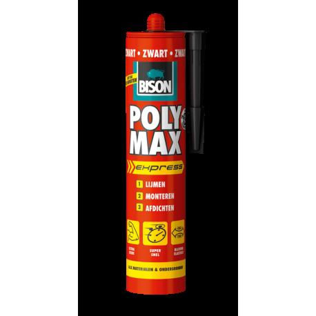 Afbeelding 1 van 1   Bison Poly Max express universele montage- en afdichtingskit zwart 425 gram