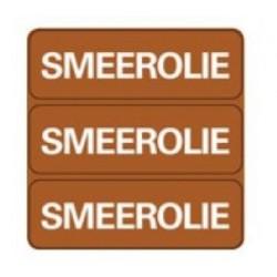 Sticker ''Smeerolie''
