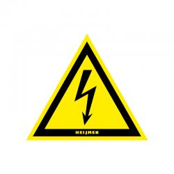 Graveerplaatje 'electrische spanning mt.xs